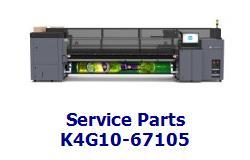 HP B4H69-67047 OEM Front Tube Shelf 54 SERV Laptop Replacement ...